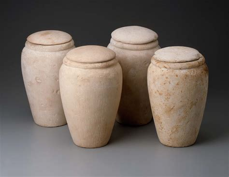 set  canopic jars museum  fine arts boston