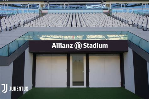 Ingresso D Juventus Stadium Naming Le Juventus Stadium Devient L Allianz Stadium