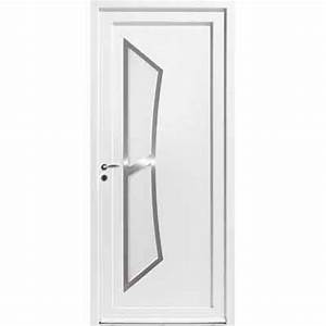 porte d39entree contemporaine en pvc zilten With porte d entrée en composite
