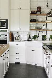 black hardware kitchen cabinet ideas the inspired room With kitchen cabinet trends 2018 combined with iron and wood wall art