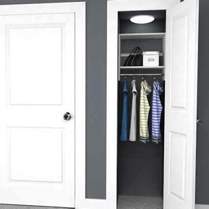 Small Space Closet Design by 4 Design Ideas For Small Closets Easyclosets