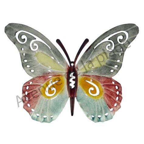 papillon m 233 tal 224 accrocher d 233 coration murale avenue de la plage