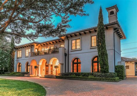 $325 Million Mediterranean Home In Houston, Tx  Homes Of