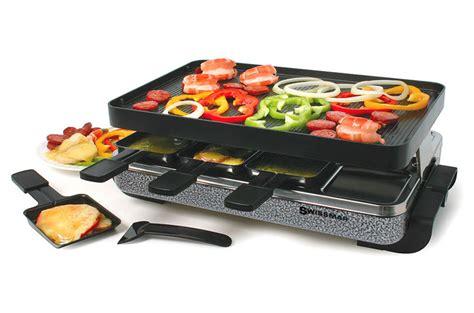swissmar eiger raclette grill  person cutlery