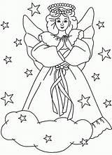 Coloring Angels Angel Ausmalbilder Engel Printable Colouring Religious Fairy Books Popular Library Malvorlagen Ausdrucken Kostenlos Zum Coloringhome sketch template