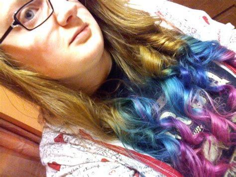 Splat Dip Dye Ombre Hair Pinterest Ombre