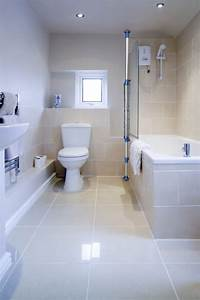 large tiles small bathroom home design With big or small tiles for small bathroom
