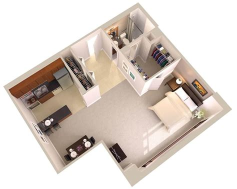 Small Kitchen Ideas Apartment - large studio apartments downtown bethesda md topaz house