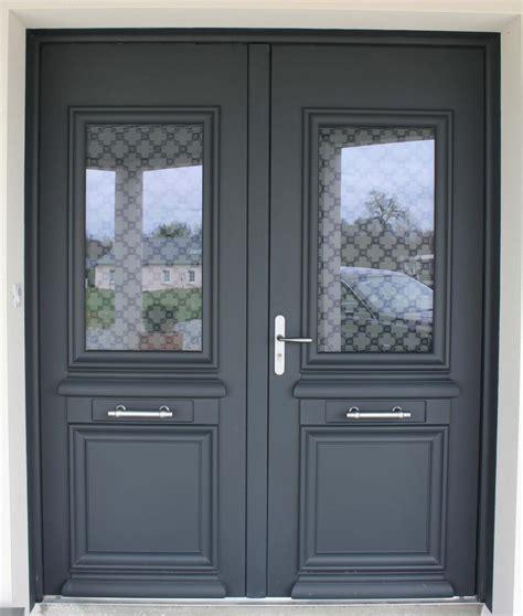 porte entree en aluminium porte d entr 233 e en aluminium r 233 alisation de la menuiserie solabaie craon