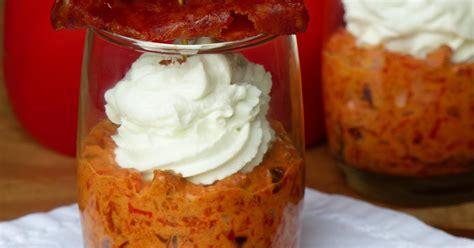 recette verrine chorizo poivron chevre