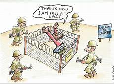 Flüchtlinge Grafiken Die treffendsten Karikaturen
