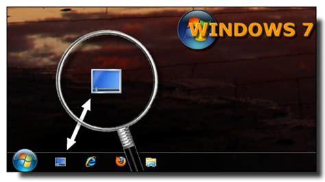 photo pour bureau windows 7 windows 7 ajouter le raccourci afficher le bureau dans