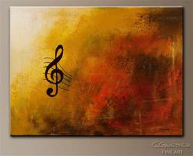 Abstract Music Art Paintings