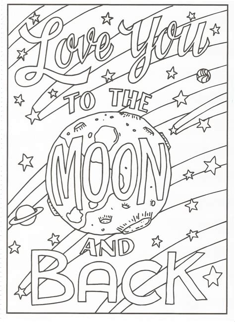 timeless creations creative quotes coloring page love