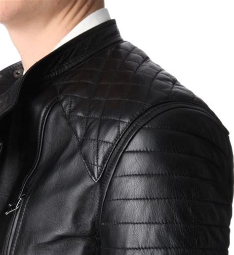 padded leather motorcycle jacket 3 1 phillip lim padded leather motorcycle jacket in black