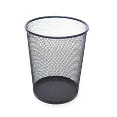 poubelle de chambre corbeille à papier poubelle de bureau en métal 12l