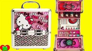 Hello Kitty Cosmetics Kids Makeup Set with Nail Polish and ...