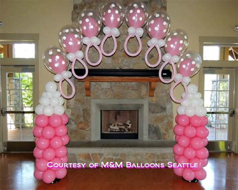 balloons decorations for baby shower adorable baby shower balloon decorating