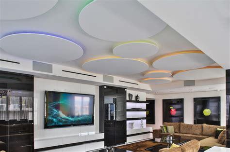miami penthouse mancave gameroom ceiling lighting