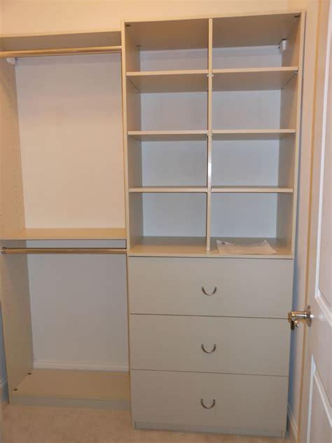 custom closet installations large and small