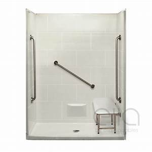 Plus 36 Barrier Free ADA Shower Kit Ella39s Bubbles