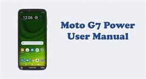 Motorola Moto G7 Power User Manual  Tracfone