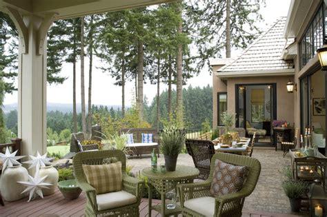 country elegance traditional patio portland