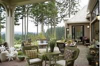 interesting french country patio decor ideas French Country Elegance - Traditional - Patio - portland - by Alan Mascord Design Associates Inc