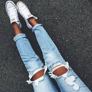 Zerrissene Jeans 42 Styling Ideen Damit