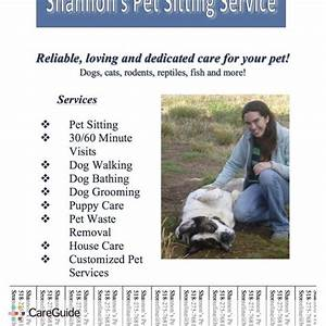 pet sitting flyer template wwwimgkidcom the image With dog and house sitting services