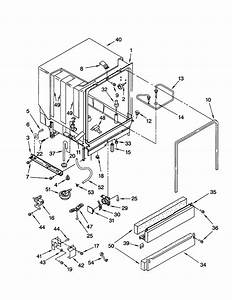Kenmore Dishwasher Parts Manual