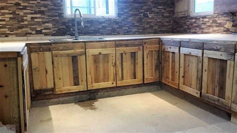 wooden pallet kitchen cabinets diy wood pallet kitchen cabinets pallet wood projects