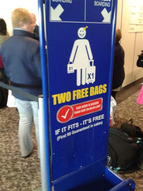cabin baggage allowance 57 air bag allowance ryanair baggage policy
