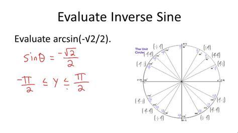 Definition Of The Inverse Of Trigonometric Ratios  Ck12 Foundation