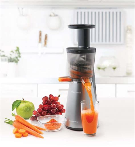 juicer cold press juice machine slow extractor kitchen masticating costco gadgets juicers deal tech clean designrulz easy need juicing coway