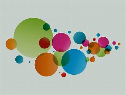 Circle Colorful Graphics Freevector Decorations
