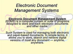 university electronic management system With document management system university