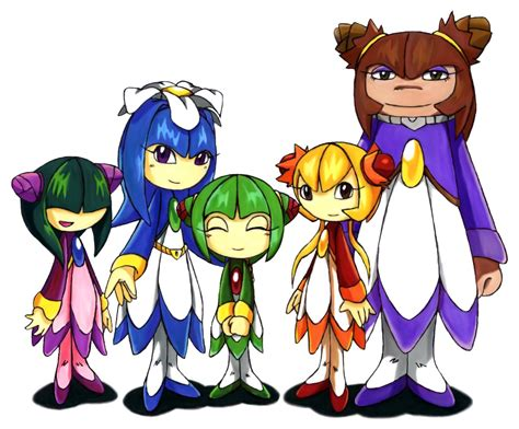 petali cosmo and her sisters by seedrius flora on deviantart