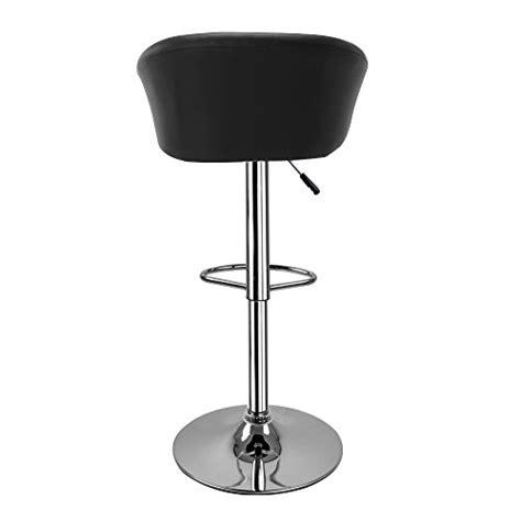 chaise de cuisine en cuir blanc hollylife lot de 2 tabourets de bar en simili cuir chaise