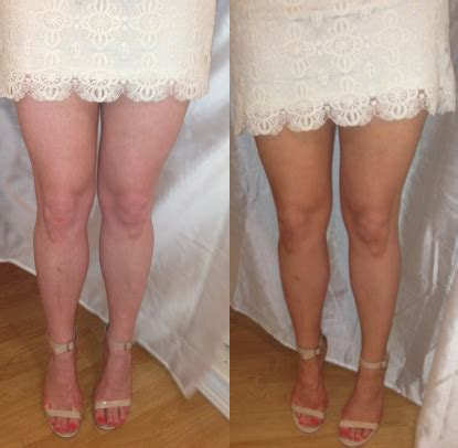 Banana Boat Self Tanning Lotion Before And After by All Gussied Up Banana Boat Color Sunless