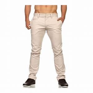 Pantalon Décontracté Homme : pantalon mode pas cher pour homme beige r f rence pa01 so fashion shop ~ Carolinahurricanesstore.com Idées de Décoration