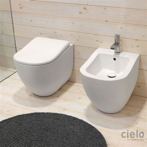 toilet seat colored designer bidet wc for bathroom ceramica cielo