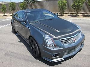 Carbon Fiber Wrap On Cadillac Cts