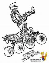 Coloring Quad Pages Atv Yamaha Bike Wheeler Polaris Rzr Colouring Clipart Printables Awesome Template Sketch Yescoloring Suzuki Print Boys Wolverine sketch template