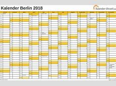 Feiertage 2018 Berlin + Kalender