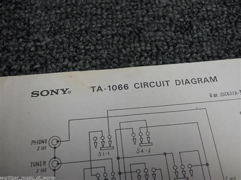Sony Integrated Amplifier Circuit Diagram