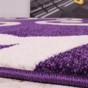 Teppich Lila Weiß : designer teppich muster in lila weiss kurzflor top qualit t zum top preis teppiche kurzflor teppiche ~ Indierocktalk.com Haus und Dekorationen