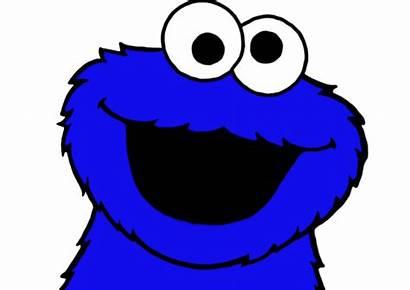 Cookie Monster Cartoon Clipart Elmo Face Deviantart