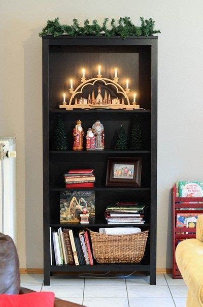 bookcase christmas decorating ideas 2013 top christmas bookcase decor christmas candle