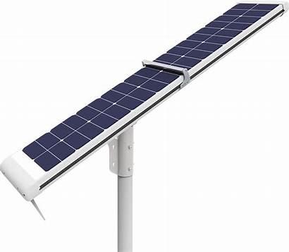 Solar Street Cleaning Lights Lighting Outdoor Installation